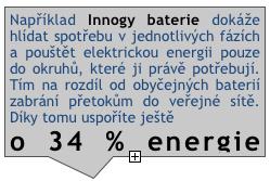 Innogy baterie